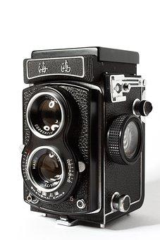 Analog Camera, Camera, Analog, Lens, Old Camera