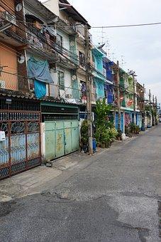 Bangkok, Thailand, Architecture, City, Urban, Color