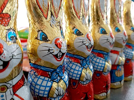 Easter Bunny, Chocolate Bunny, Easter, Chocolate, Candy
