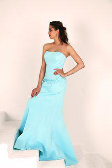 Girl, Model, Posture, Dress, Blue Dress, Photoshoot