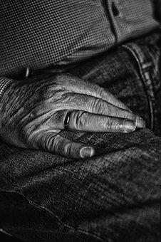 Hands, Man, Human, Person, Male, Old
