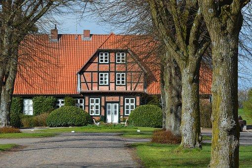 Architecture, Manor, Mecklenburg