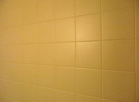 Old, Tiles, Bad, 80s, Beige, Old House, Used