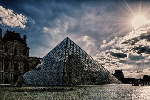 Louvre, Museum, Paris