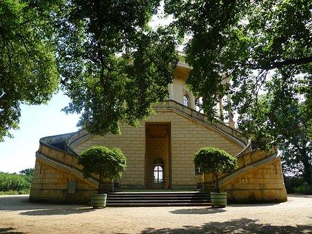 Sanssouci, Potsdam, Park, Architecture, Building