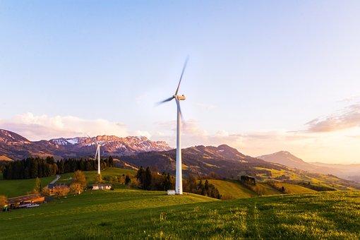 Wind Turbine, Pinwheel, Wind Energy, Wind Park