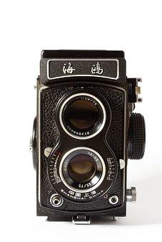 Camera, Analog, Tlr, Hipster, Retro, Old, Photo Camera