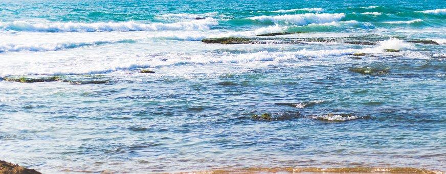 Sea, Rocks, Ocean, Blue, Water, Salt, Nature, Summer