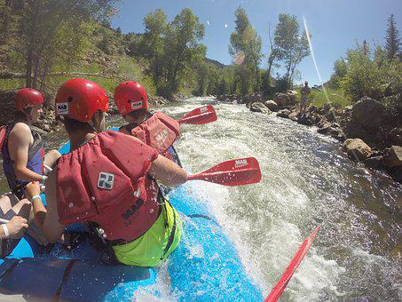 Whitewater, Rafting, River, Water, Sport, Adventure