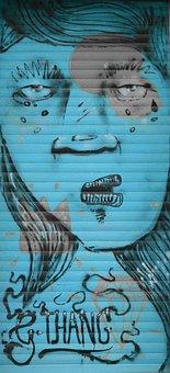 Graffiti, Street Art, Urban Art, Mural, Spray