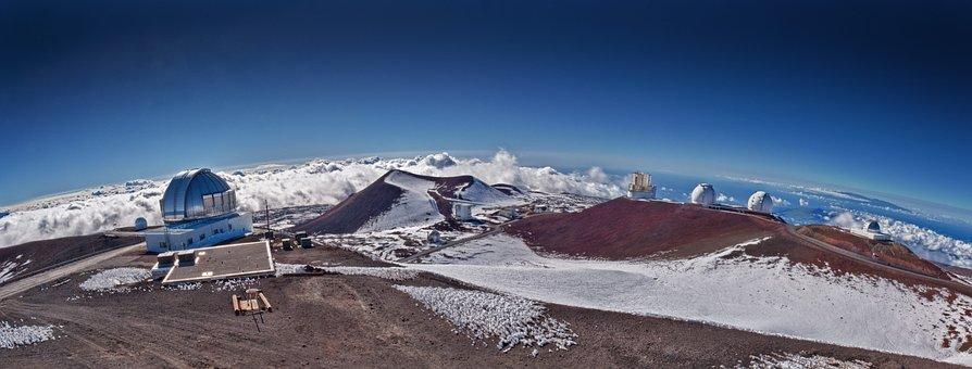 Mountain, Telescope, Hawaii, Summit, Astronomy