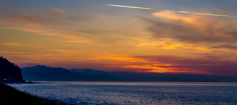 Sunset, Clouds, Cloud, Landscape, Rize, Turkey