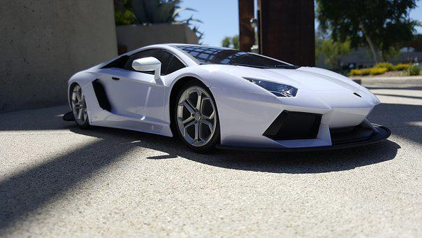 Car, White, Toy Car, M, Vehicle, Auto, Childhood, Play