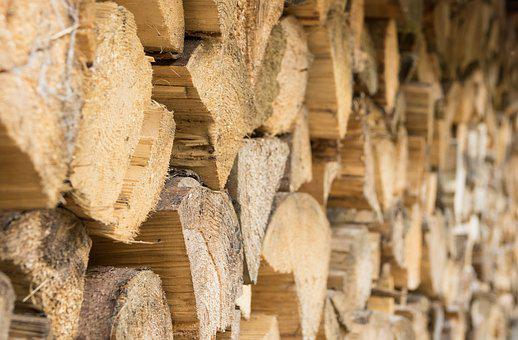 Wood, Woods, Stack, Dry Wood, Background