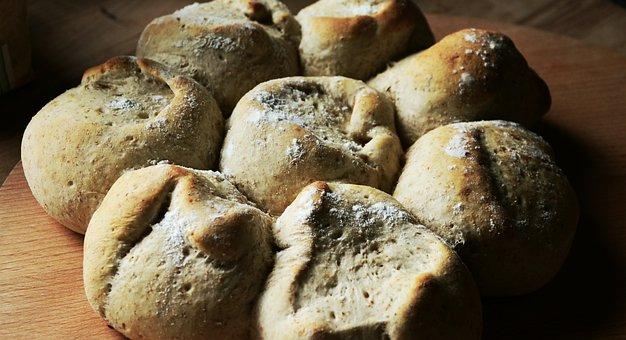 Bread, Roll, Baked, Arouse, Baked Goods, Homemade