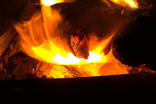 Fire, Rays, Mystical, Burn, Atmosphere, Feuervogel