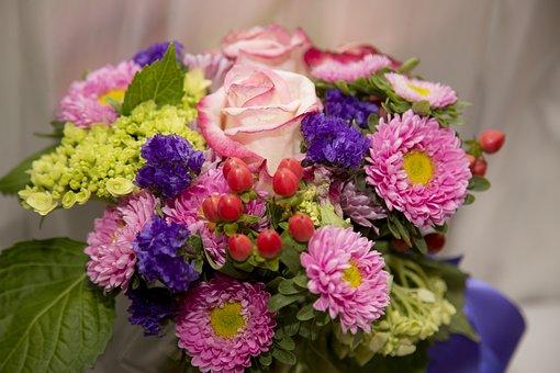 Flower, Bouquet, Beautiful, Wedding, Romantic, Floral