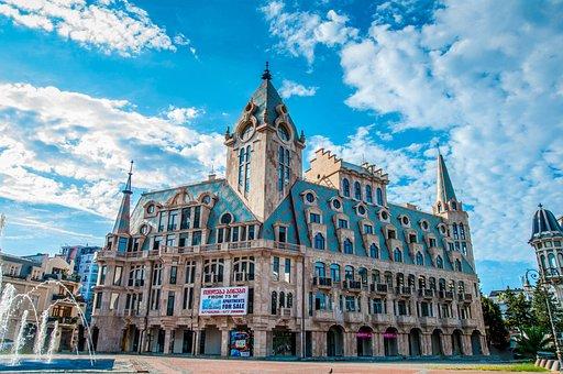 Architecture, Building, Russian, Georgia, Batumi, Big
