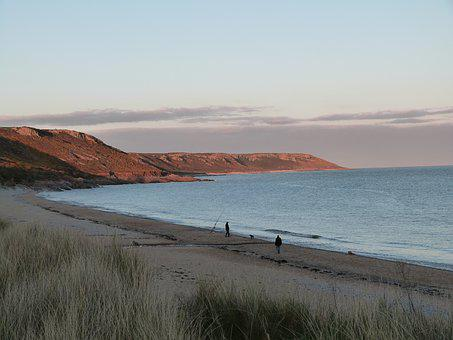 Gower, Sea, Seascape, Wales, Bay, Beach, Coast, Coastal