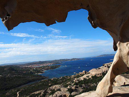 Sardinia, Capo D'orso, Bear, Granite, Rock, Cliff, Sea
