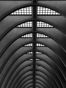 Railway Station, Liege, Liège, Architecture