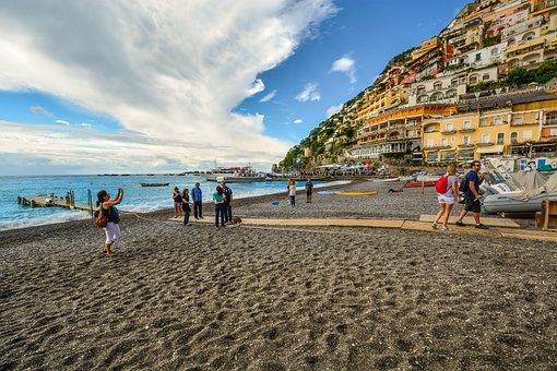 Positano, Amalfi, Coast, Italy, Italian, Mediterranean
