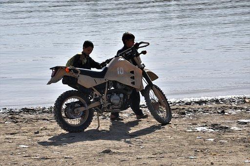 Motorcycle, Motocross, Sand, Cross, Mature, Enduro
