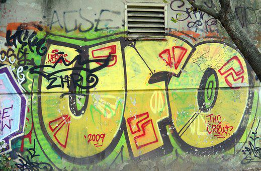 Graffiti, Street Art, Urban Art, Art, Sprayer, Mural
