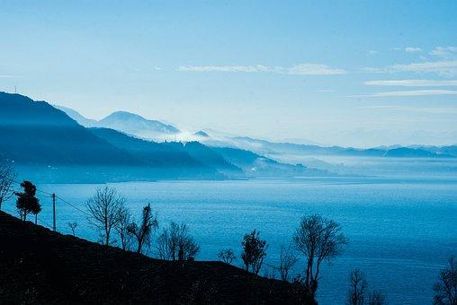 Landscape, Blue, Nature, Marine, Rize, Turkey