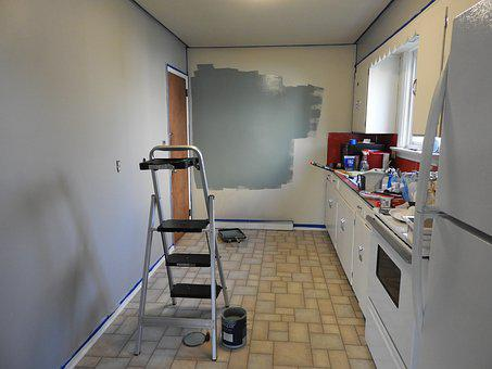Paint, Workspace, Remodel, Design, Creative, Work