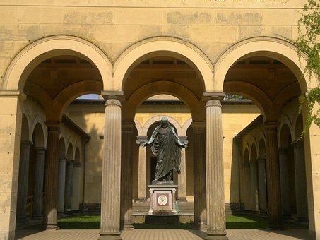 Potsdam, Jesus, Monument, Sanssouci, Architecture