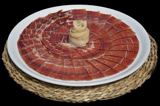 Serrano Ham, Food, Tapas, Appetizer, Incoming, Pork