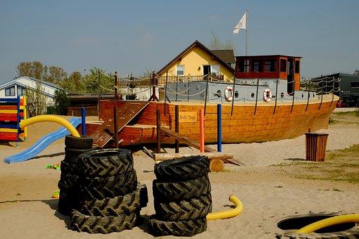 Children's Playground, Playground, Ship, Archenoah