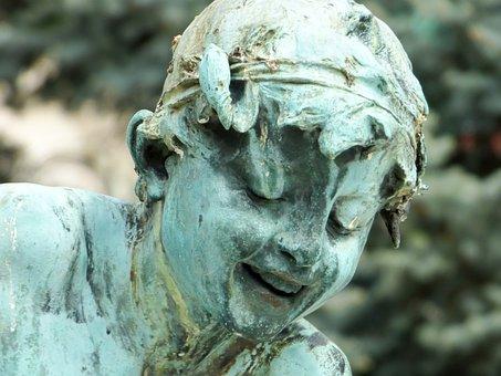 Statue, Bronze, Bronze Statue, Street Statue, Budapest