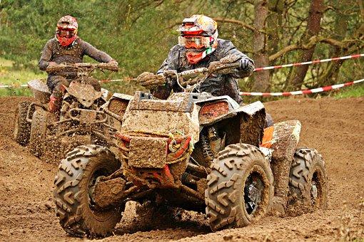 Quad, Atv, Motocross, All-terrain Vehicle, Cross