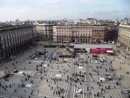 Milan, Piazza, Duomo