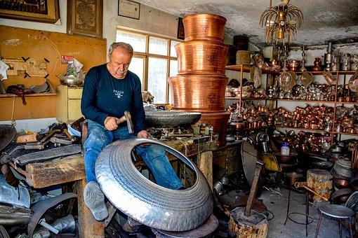Coppersmith Of Uta, Coppersmith, Craft, Human