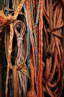 Rope, Knot, Tros, Color, Loop, Cord
