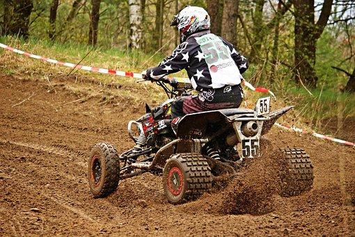 Quad, Cross, Motorsport, Motocross, Motorcycle, Atv