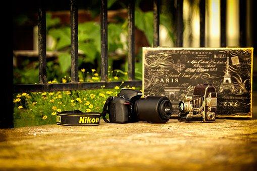 Camera, Old, Modern, Old Camera, Camera Photo