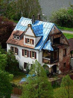 Home, Ruin, Build, Renovation, Old, Break Up