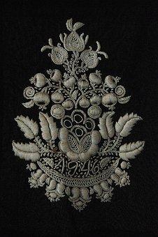 Sárközi, Folk, Sample, Hungarian, Ornament, Motif