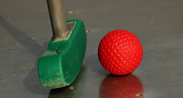 Miniature Golf, Mini Golf Club, Skill Game