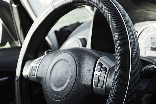 Steering Wheel, Wheel, Car, Steering, Control, Driving