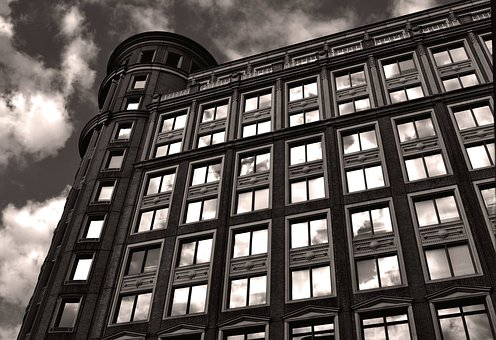 Building Side, Reflection, London, Building, City, Side