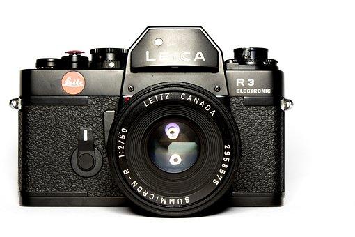 Leica, Camera, Analog, Vintage, Lens, Film, Recording