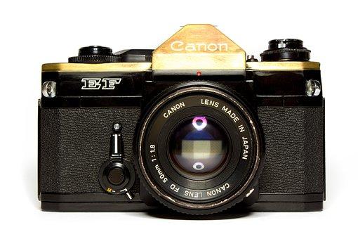 Analog, Camera, Vintage, Canon, Vintage- Camera