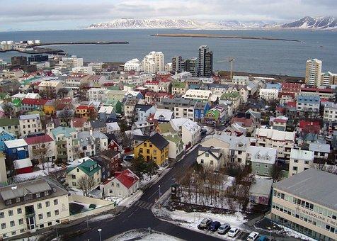Reykjavik, City, Iceland, Downtown, Cityscape