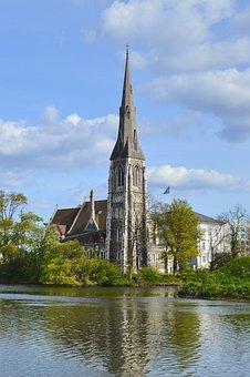 St Alban's Church, Copenhagen, Denmark, Church, Alban