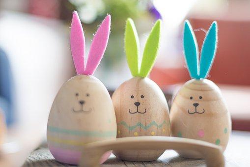 Easter, Egg, Faces, Spring, Holiday, Celebration
